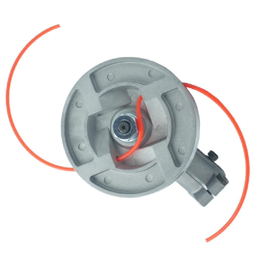 JOYKK 2mmx15M Nylon Trimmer Line Cortador de Cepillo Strimmer Cuerda Cortadora de c/ésped Cable 1# Naranja