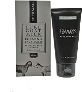 product image for Beekman 1802 - Foaming Face Wash - Gentle Cleanser for Removing Excess Oil & Dirt - Naturally Rich in Lactic Acid & Vitamins - Cruelty-Free Bodycare - 2 oz