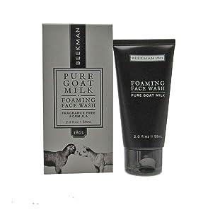 Beekman 1802 Pure Goat Milk Foaming Face Wash - 2 Fluid Ounces