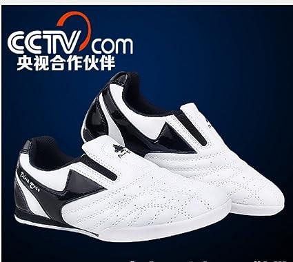 489cb56b55b7d9 strip breathable Taekwondo Shoes Sneaker kid sport Training Competition shoe  (28)