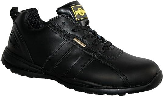 Northwest Territory Hombre Zapatos de Puntera de Seguridad de Cuero