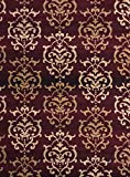 United Weavers of America Dallas Countess Rug, 5 x 8', Burgundy