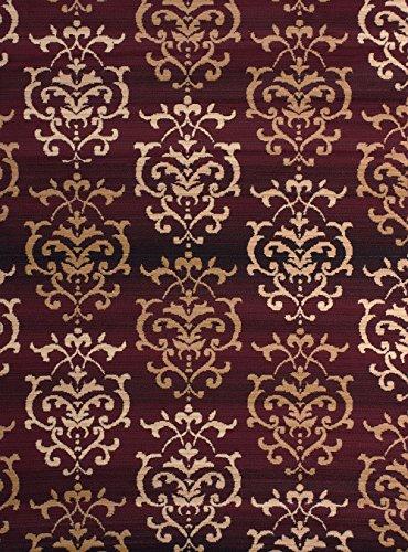 United Weavers Of America Dallas Countess Rug, 8 X 10u0027, Burgundy