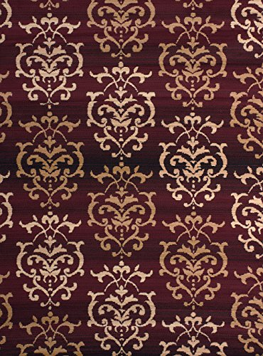 United Weavers of America Dallas Countess Rug, 2 x 3', Burgundy (1'3 Inch Area Rug)