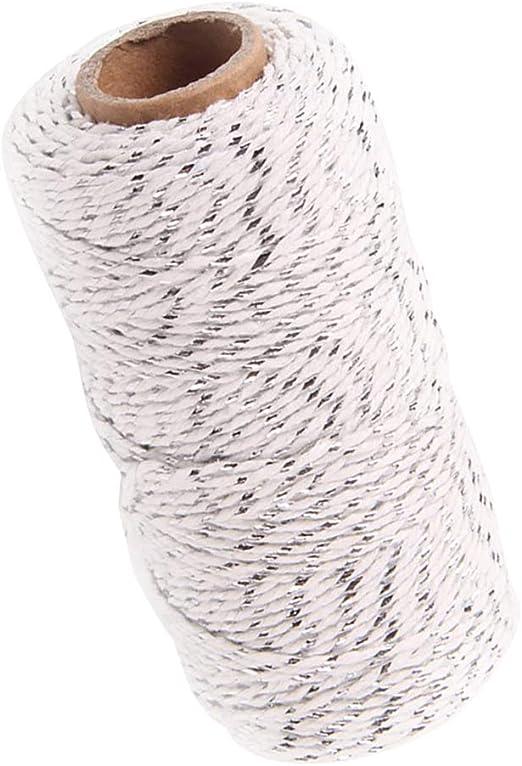 1 Rollo de Hilo Cuerda de Algodón de 328 Pies para Obsequio de ...