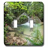 Danita Delimont - Waterfall - Mossman Gorge Daintree National Park North Queensland Australia - Light Switch Covers - double toggle switch (lsp_226228_2)
