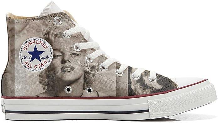 Converse Chucks Chuck Taylor Unisex High Top Marilyn Monroe
