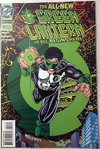 Green Lantern (1990) #51 NM+ 1st app Kyle Rayner as Green Lantern CGC worthy