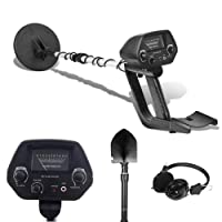 Kingdetector MD-4030 Pro Edition Hobby Explorer Waterproof Search Coil with shovel Metal Detectors