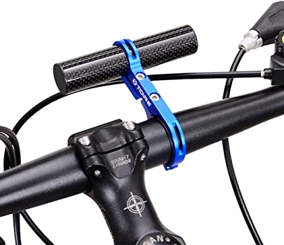 Soporte de linterna para manillar de bicicleta de IGEMY, de 31,8 ...