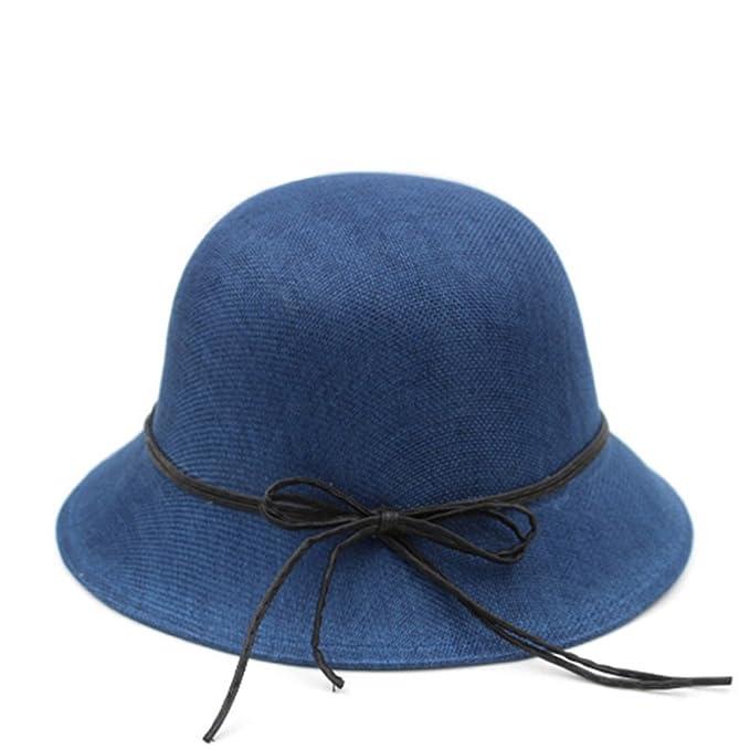 4fb25fb4c06bd JIANCHIJY Sombrero de Sun de Las señoras Gorras de la Cuenca Ocio al Aire  Libre Tapa no viewer Sombreros pequeños-A un tamaño  Amazon.es  Ropa y  accesorios
