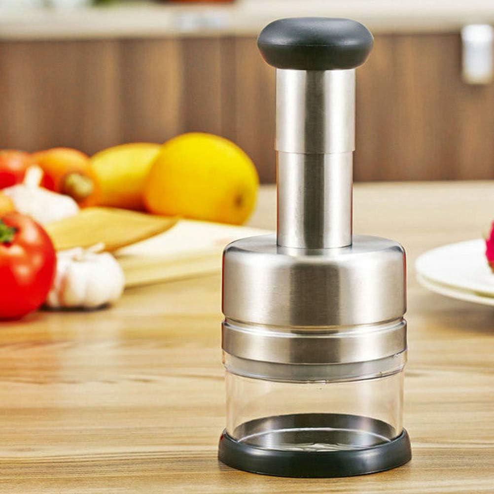 BESTONZON Besto nzon Manual picadora Cebolla universalzerkleinerer Multi Funci/ón Cortador de Verduras Desmontable para Verduras Frutas cebollas