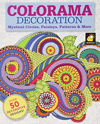 Colorama Decoration: Mystical Circles, Paisleys, Patterns & More ()