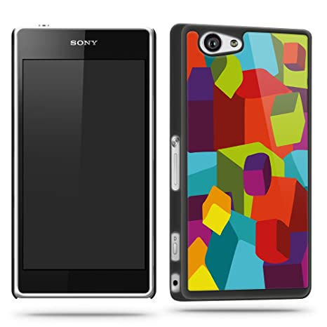 Amazon.com: Colourful Cube Pattern Funky Cool Phone Case ...