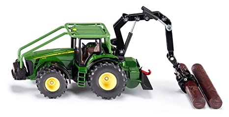 Amazon com: John Deere Forestry Tractor With Crane: Toys & Games