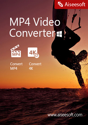 Aiseesoft MP4 Video Converter - convert any video file to the popular MP4 format used by digital camcorders, smart phones, tablets and video sharing websites [Download]