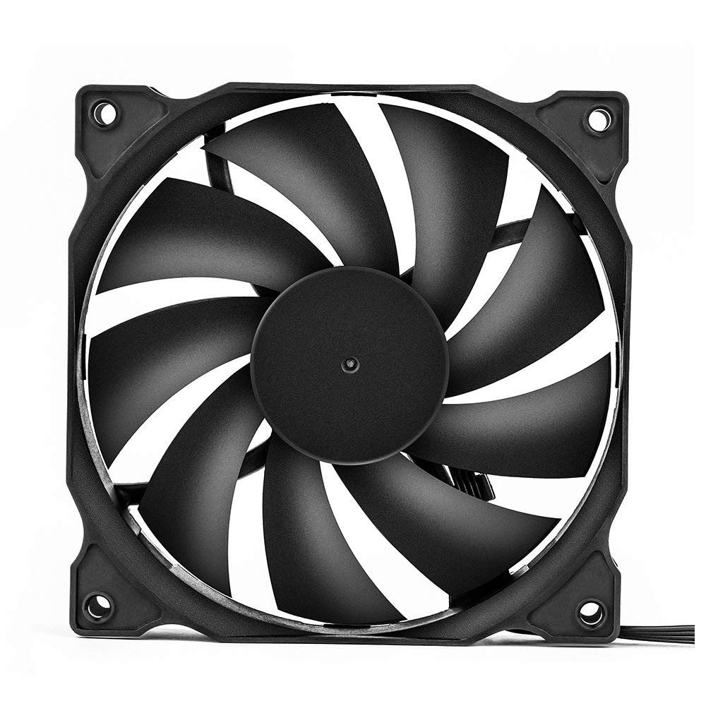 uphere 3-pack Long Life Computer Case Fan 120mm Cooling Case Fan for Computer Cases Cooling by upHere (Image #2)