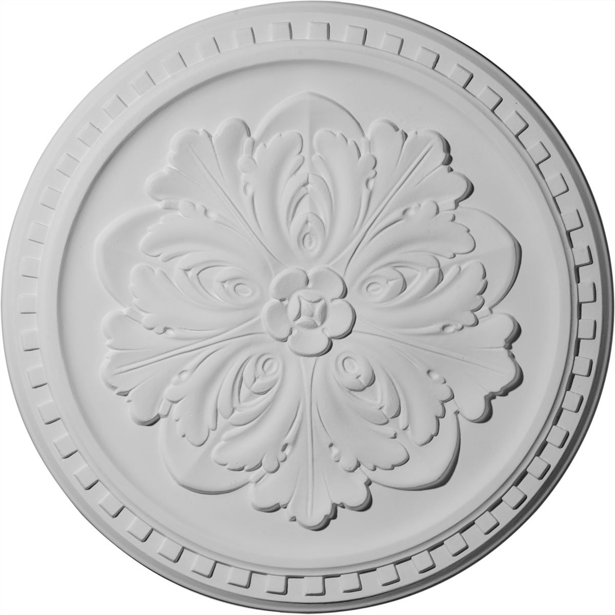 Ekena Millwork CM16ER 16 7/8-Inch OD x 5/8-Inch Emeryville Ceiling Medallion