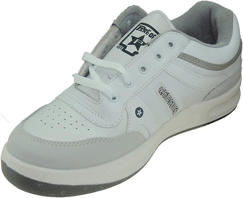 Paredes 1828 Zapatilla Deportiva Piel Tallas Grandes para Hombre Blanco Talla 47: Amazon.es: Zapatos y complementos