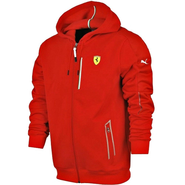 Ferrari Sweat À Capuche Inde Pumas 6Q8LQNS8