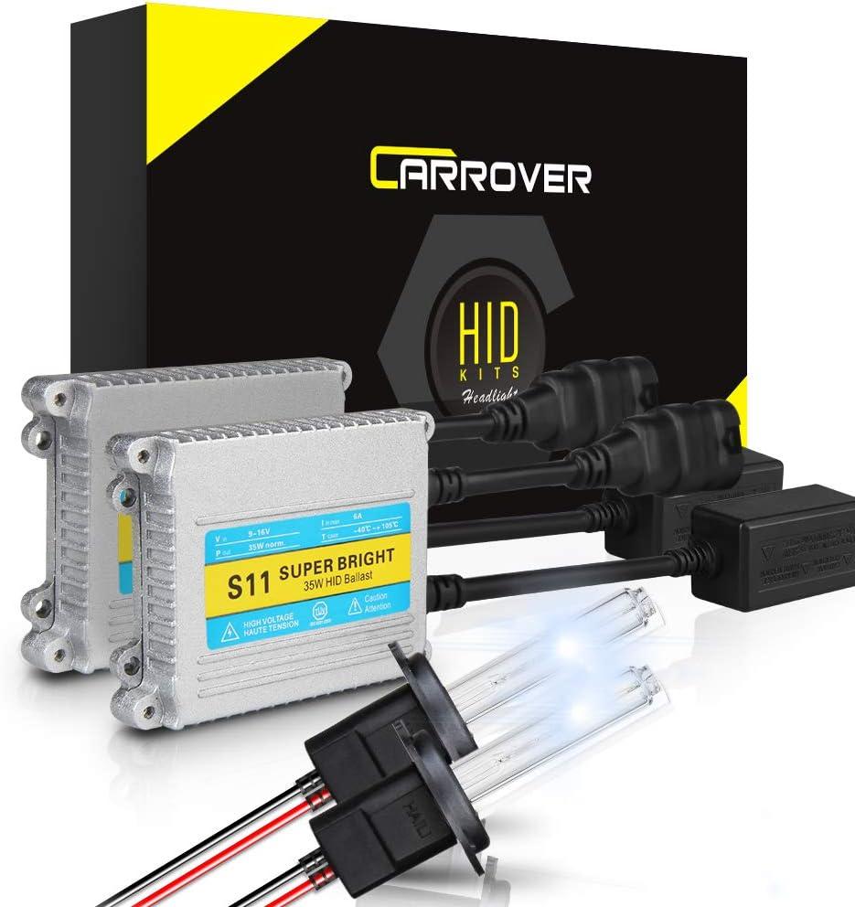 Rover 25 55w Clear Xenon HID Low Dip Beam Headlight Headlamp Bulbs Pair