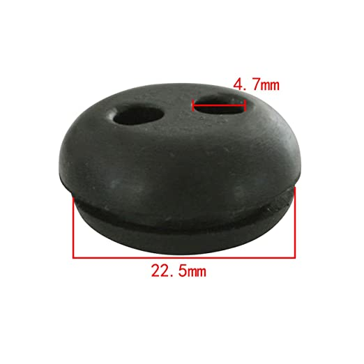2Pcs Rubber Grommet ForStringTrimmer Lawn mower Chainsaw Craftsman Fuel Tank