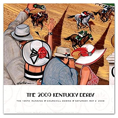 2009 Kentucky Derby Poster