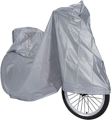 Ejoyous Cubierta impermeable para bicicleta, cubierta de lluvia ...