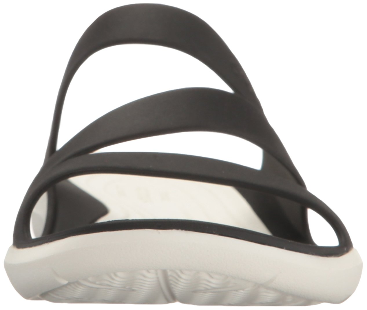 Crocs Women's Swiftwater Sandal B01H70LSHE 8 B(M) US|Black/White