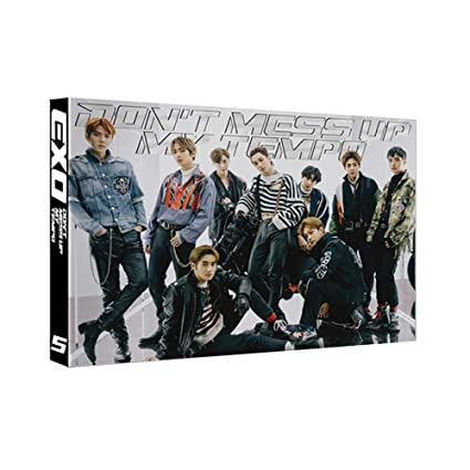 Amazon Com Limitd Edition Exo 5th Album Don T Mess Up My Tempo