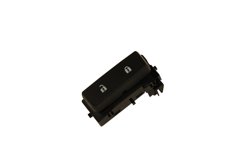 ACDelco 15804093 GM Original Equipment Ebony Door Lock Switch with Blue Lagoon Backlighting