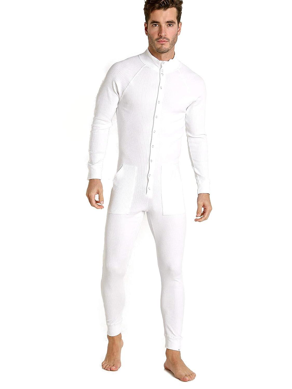 Modus Vivendi Tiger Union Suit White