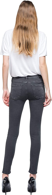 REPLAY Luz High Waist Jeans Donna
