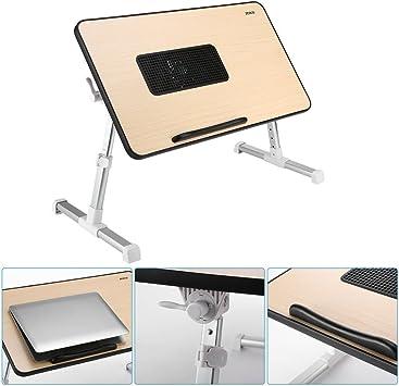 ICOCO Mesa Ajustable sobre cama para Portátil, soporte de lectura ...