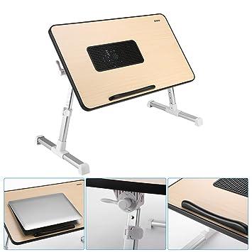 ICOCO Mesa Ajustable sobre cama para Portátil, soporte de lectura para niños: Amazon.es: Electrónica