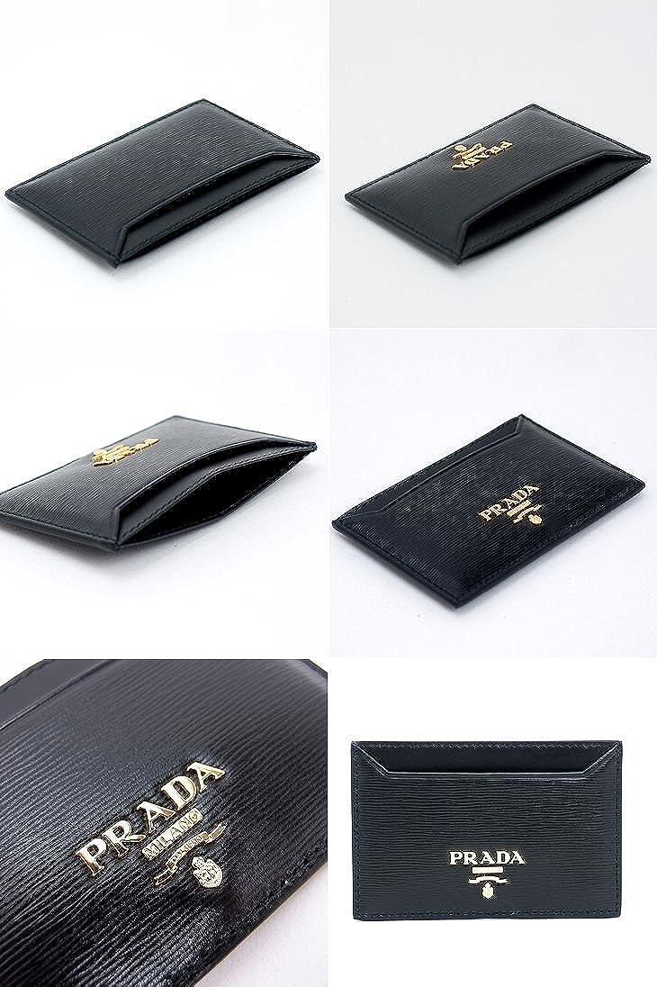 info for 3ef1a 86a4c NERO プラダ /[アウトレット品/] 名刺入れ レザー 黒 定期入れ ...