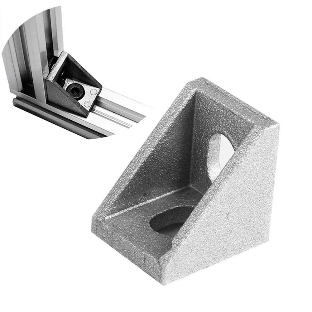 Pasamer 4 unids/Set Impresora 3D Perfil Soporte de Esquina Forma L ...