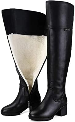 Over The Knee Boots Keep Warm Genuine