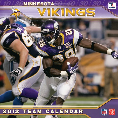 2012 MINNESOTA VIKINGS 12X12 WALL - Wall Calendar Minnesota Vikings