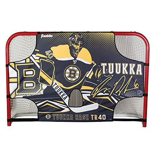 Shooting Goal Target Championship - Franklin Sports Tuukka RASK Tuukka Rask - Tuukka Tutor Hockey Shooting Target - Shooter Tutor Fits 72