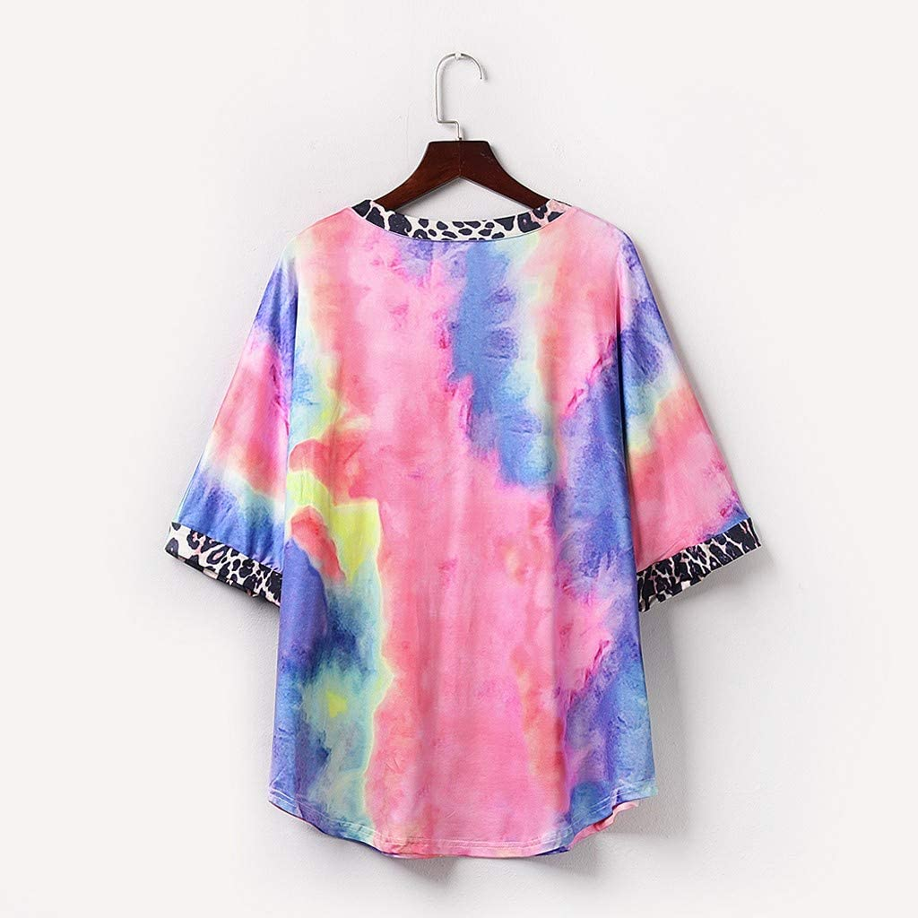 Tunic,Toimoth Women Daily Casual Short//Long Sleeve Striped Patchwork Stretchy Tops Blouse T-Shirt