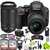 Nikon D5600 DSLR Camera with Nikon 18-55mm f/3.5-5.6G Lens and Nikon 70-300mm Lens 2 Lenses Kit