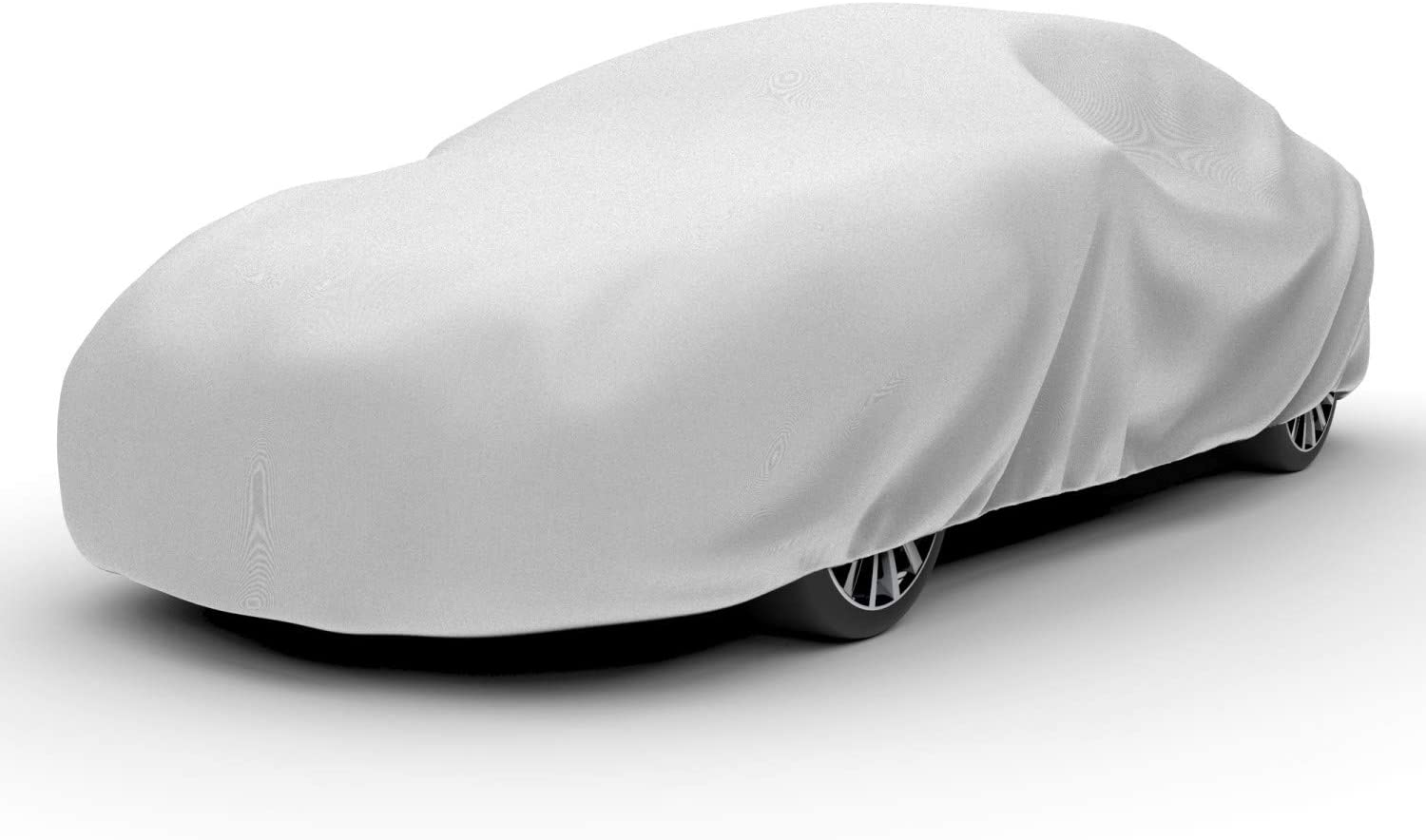 "Budge RB-2 Rain Barrier Car Cover Gray Size 2: Fits up to 14' 2"" Outdoor, Breathable"