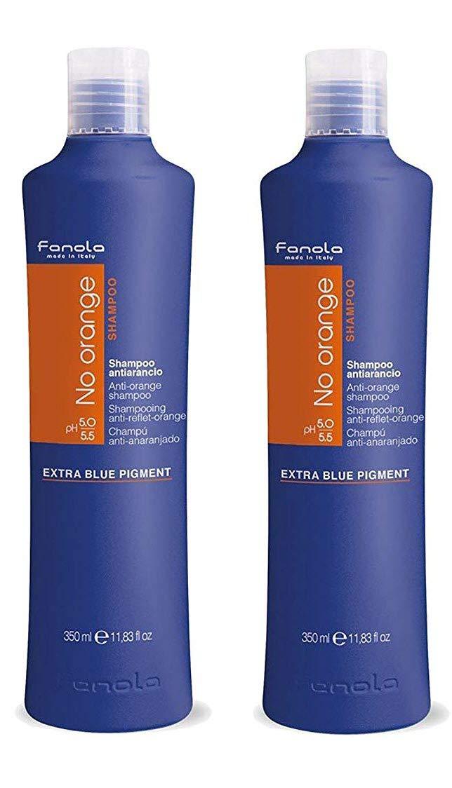 Fanola No Orange Shampoo Package (350 ml) by Fanola