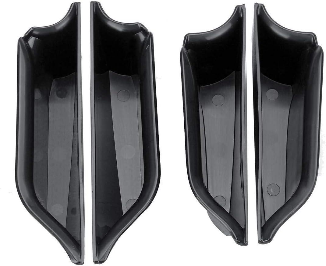 Accoudoir Bo/îte De Rangement Poign/ée de porte de voiture int/érieur InSide avant Accoudoirs Bo/îte de rangement Case ABS Plateau Support for BMW Mini Cooper for F55 F56 Car Styling int/érieur