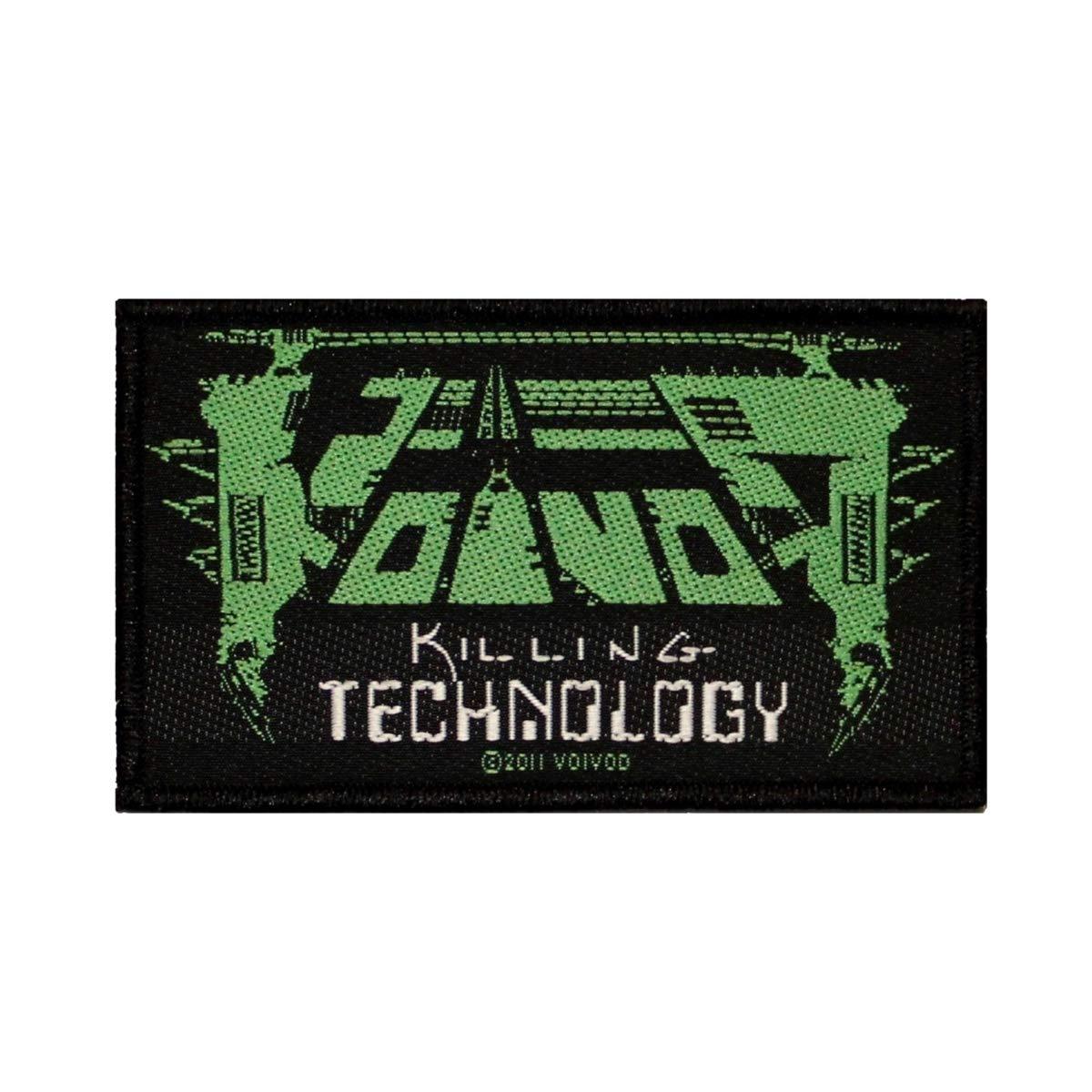 Voivod Killing Technology Patch Album Logo Heavy Metal Woven Sew On Applique RAZAMATAZ
