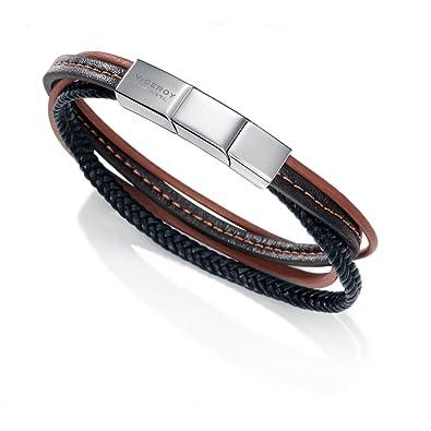 5995d9155391 Pulsera Piel Viceroy Fashion 75010P09011  Amazon.es  Joyería