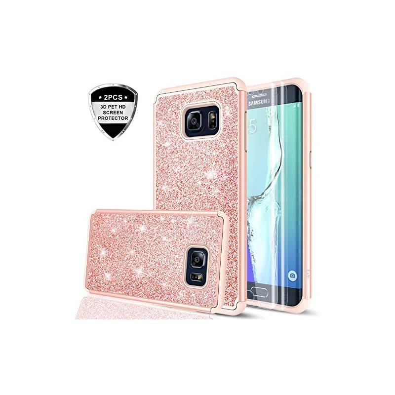 Galaxy S6 Edge Case with 3D Pet Screen P