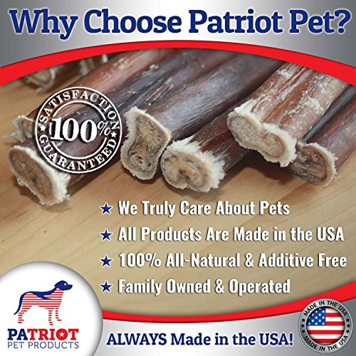 6 inch premium bully sticks 18pk made in usa natural low import it all. Black Bedroom Furniture Sets. Home Design Ideas