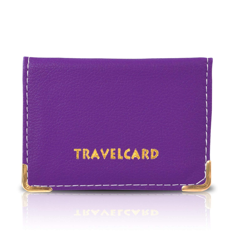 Oyster Card - tarjetero, Funda para tarjeta de viaje con tarjetero, - color naranja b65b81